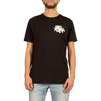 Volcom Black Mag Vibes Black T-Shirt