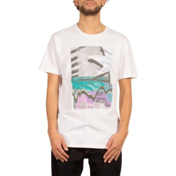 Volcom White Mag Vibes White T-Shirt