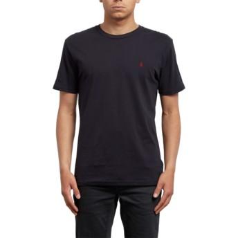 Volcom Black Stone Blanks Black T-Shirt