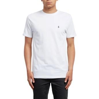 Volcom White Stone Blanks White T-Shirt