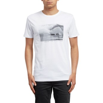 Volcom White Burch Fom White T-Shirt