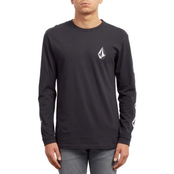Volcom Black Deadly Stone Black Long Sleeve T-Shirt