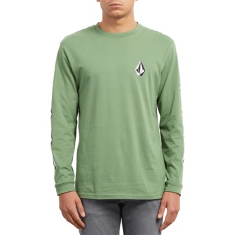 Volcom Dark Kelly Deadly Stone Green Long Sleeve T-Shirt