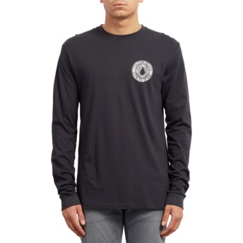 Volcom Black Volcomsphere Black Long Sleeve T-Shirt