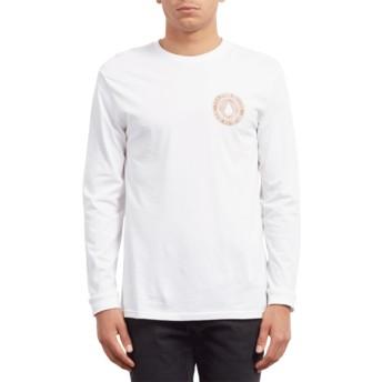 Volcom White Volcomsphere White Long Sleeve T-Shirt