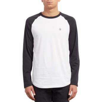 Volcom Black Pen Black and White Long Sleeve T-Shirt