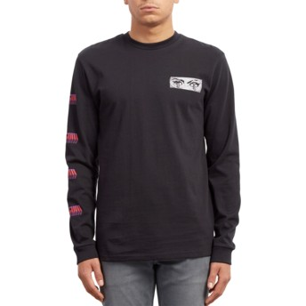 Volcom Black Black Black Hole Long Sleeve T-Shirt