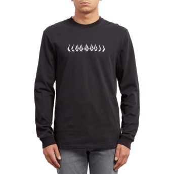 Volcom Black Phase Black Long Sleeve T-Shirt