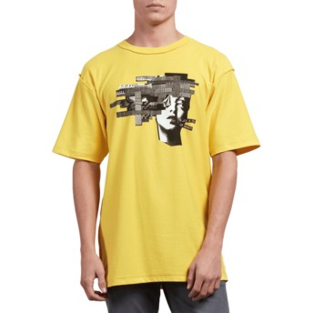Volcom Cyber Yellow Noa Noise Head Yellow T-Shirt