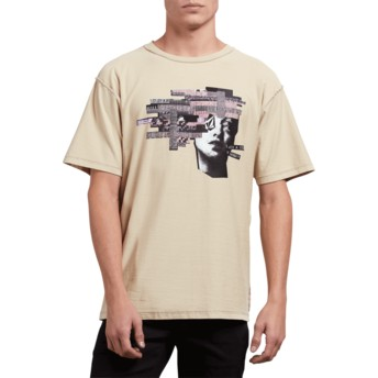 Volcom Clay Noa Noise Head Beige T-Shirt