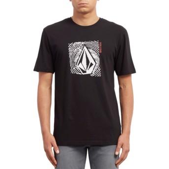 Volcom Black Stonar Waves Black T-Shirt