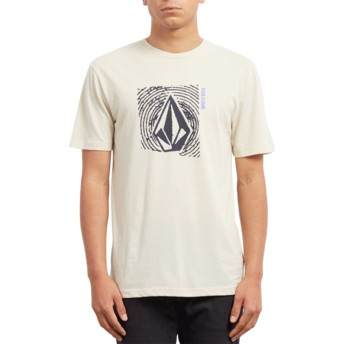 Volcom Clay Stonar Waves Beige T-Shirt