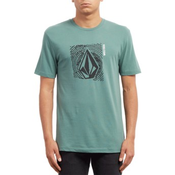 Volcom Pine Stonar Waves Green T-Shirt
