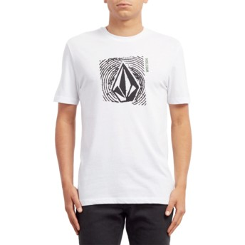 Volcom White Stonar Waves White T-Shirt