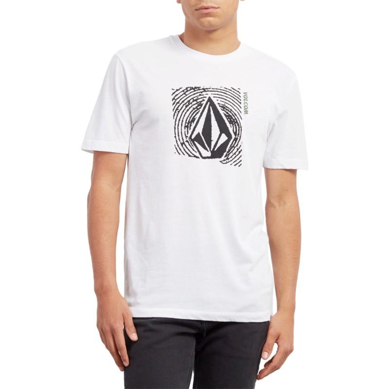 d479899e Volcom White Stonar Waves White T-Shirt: Shop Online at Caphunters