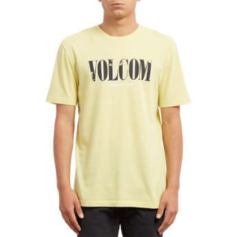 Volcom Acid Yellow Lifer Yellow T-Shirt