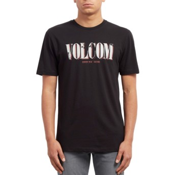 Volcom Black Lifer Black T-Shirt