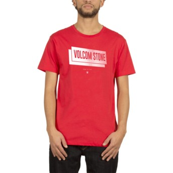 Volcom True Red Grubby Red T-Shirt