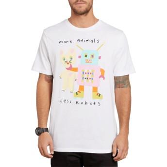 Volcom White Less Bots White T-Shirt