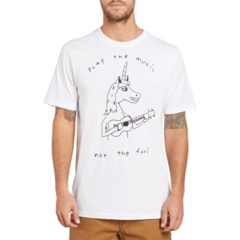 Volcom White Not The Fool White T-Shirt