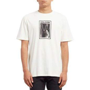 Volcom Dirty White Peace Off White T-Shirt