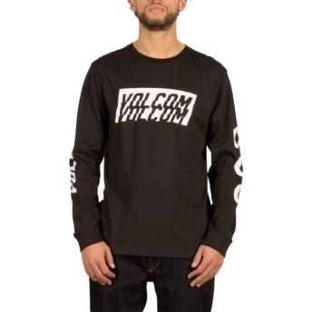 Volcom Black Chopper Black Long Sleeve T-Shirt