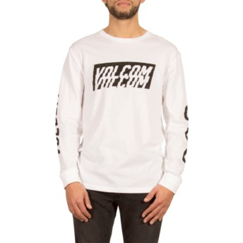 Volcom White Chopper White Long Sleeve T-Shirt