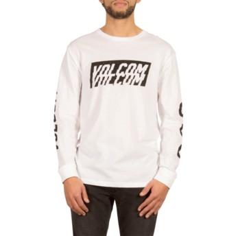 Volcom White Chopper White Long Sleeve T-Shirt