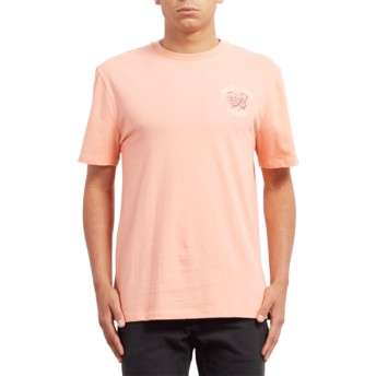 Volcom Orange Glow Pair Of Dice Orange T-Shirt