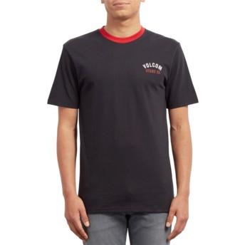 Volcom Engine Red Safe Bet Rng Black T-Shirt
