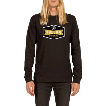 Volcom Black Budy Black Long Sleeve T-Shirt