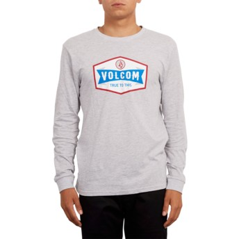 Volcom Heather Grey Budy Grey Long Sleeve T-Shirt