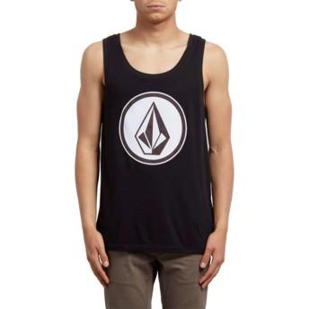 Volcom Black Classic Stone Black Sleeveless T-Shirt