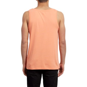 Volcom Salmon Classic Stone Orange Sleeveless T-Shirt