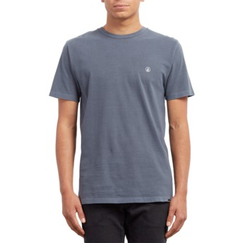 Volcom Midnight Blue Pale Wash II Navy Blue T-Shirt
