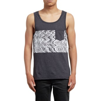 Volcom Heather Black Lofi Black Sleeveless T-Shirt
