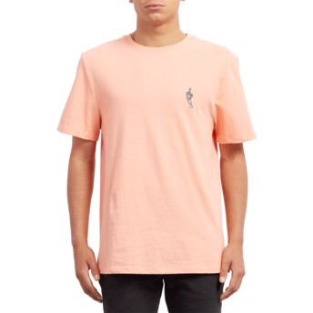 Volcom Orange Glow Finger Orange T-Shirt