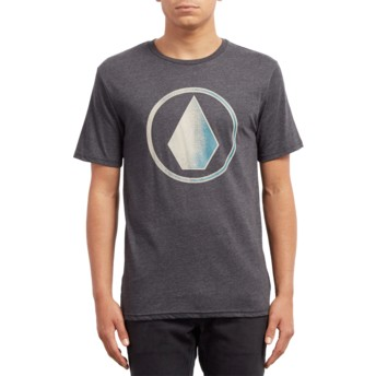 Volcom Heather Black Removed Black T-Shirt