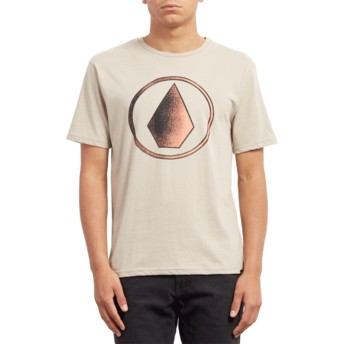 Volcom Oatmeal Removed Beige T-Shirt