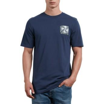 Volcom Navy Stone Radiator Navy Blue T-Shirt