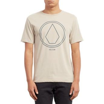 Volcom Oatmeal Pinline Stone Beige T-Shirt
