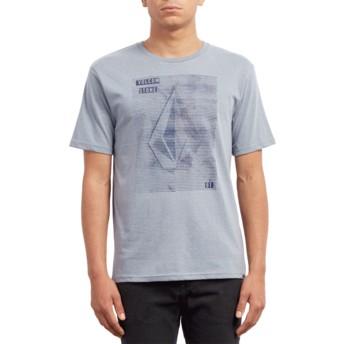 Volcom Arctic Blue Line Tone Blue T-Shirt