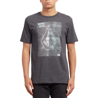 Volcom Heather Black Line Tone Black T-Shirt