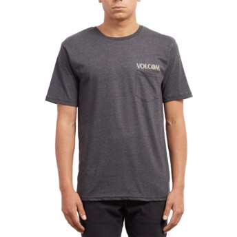 Volcom Heather Black Center Black T-Shirt