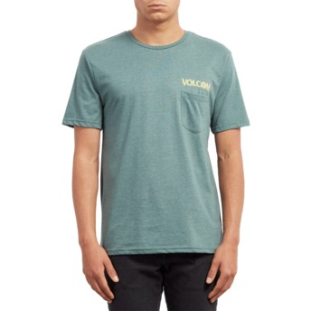 Volcom Pine Center Green T-Shirt