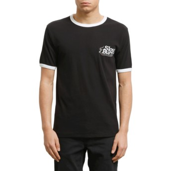 Volcom Black Slowburn Black T-Shirt