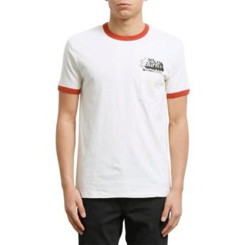 Volcom Egg White Slowburn White T-Shirt