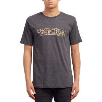 Volcom Heather Black En Route Black T-Shirt