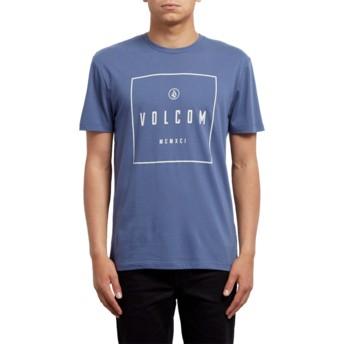 Volcom Deep Blue Scribe Blue T-Shirt