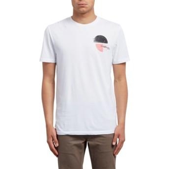 Volcom White Over Ride White T-Shirt